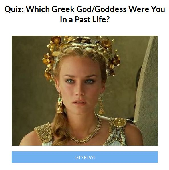 which goddessz or god were you in paszt life